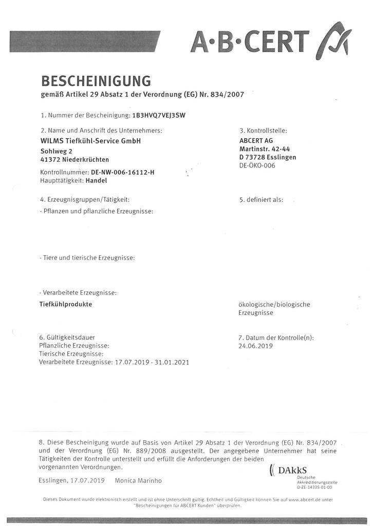 Zertifikat ABCert (PDF Download)
